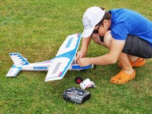 Modellflugzeug für Anfänger